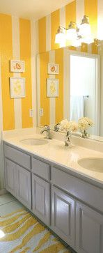 1000 images about home ideas bathroom on pinterest for Purple and yellow bathroom ideas
