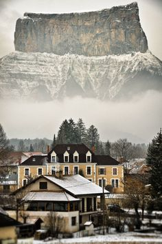 France's Mont Aiguille - The French Pre-Alp plateau is considered the birthplace of mountaineering.