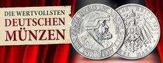 Die wertvollsten deutschen Münzen: Sachsen 3 Mark 1917 Friedrich der Weise