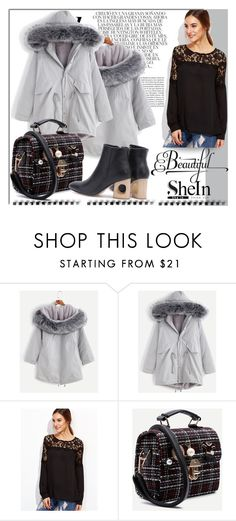 """SheIn 7"" by melissa995 ❤ liked on Polyvore featuring Whiteley"