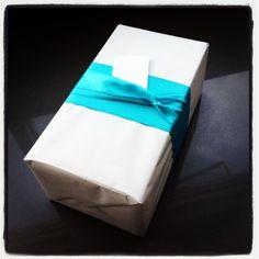 fun wedding present gift wrap