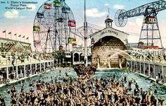 Coney Island - Second Steeplechase Park (1908 - 1964).