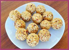 Die Backprinzessin: Energiebällchen Muffin, Breakfast, Food, Food Food, Bakken, Recipies, Morning Coffee, Essen, Muffins