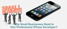 Having an iPhone application for your business is extremely helpful, so hiring a professional iPhone developer plays a very significant role. Check-out this blog and find-out how iPhone professional can help you out.
