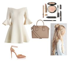 """Без названия #1861"" by martusha200 ❤ liked on Polyvore featuring Chicwish, Christian Louboutin and Givenchy"