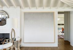 Acadia White by Benjamin Moore California Home + Design Santa Cruz California, California Dreamin', White Exterior Houses, Classic White, House Tours, House Design, Benjamin Moore, Oc, Furniture