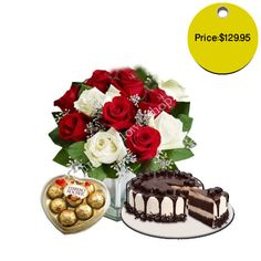 These happy birthday roses with cakes and chocolates will give a perfect start to the day.#happybirthday #birthday #birthdayflowers #flowers #love #boyfriend #country #countryflowers #happybirthday #birthday #birthdayflowers #flowers #love #boyfriend #country #countryflowers #smellingbeautiful #lillies #pink #purpl