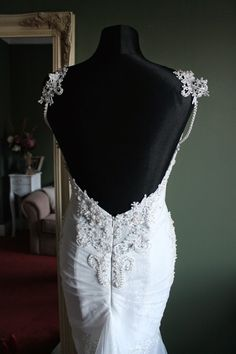 berta alex multiple layers lace wedding gown