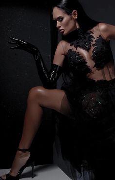 Goth, Elegant, Gloves, Beauty, Black, Style, Fashion, Gothic, Classy