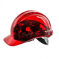 Portwest Peak View Helmet - Vented One Size, Red Primark, Construction Hat, Safety Helmet, Hard Hats, Baseball Caps, Red, Current Events, United Kingdom, Airmail