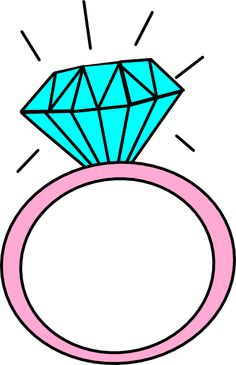 Engagement Ring Cartoon Picture 17 Engagement Rings Pinterest