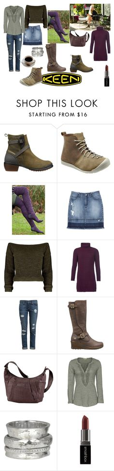 """""""So Fresh and So Keen: Contest Entry"""" by simonecarlisle1976 ❤ liked on Polyvore featuring Keen Footwear, Bebe, Barbour, Paige Denim, Dylan, MeditationRings, Smashbox and keen"""