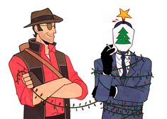 sniper and spy tf2 omg poor spy