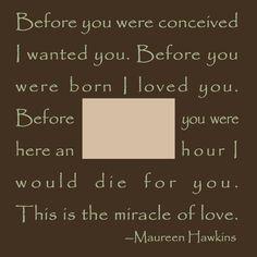 So sweet & so true!