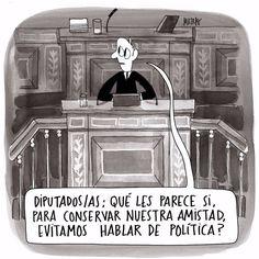 Un pacto político #Viñeta #Humor