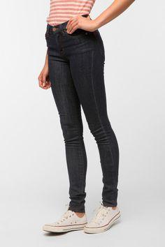 BDG Cigarette High-Rise Jean - Indigo - Urban Outfitters