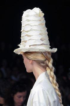 Lanyard braids at Donna Karan, New York Spring 2015