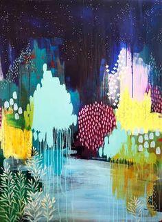 "Saatchi Art Artist Clair Bremner; Painting, ""On The Last Night"" #art"