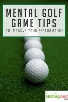 If your looking for some mental tips to improve your golf swing, check out these helpful tips for a better golf game. How to Train your brain for best Execution on the Course Golf is Mental Golf Tips Driving, Golf Score, Golf Putting Tips, Golf Chipping, Golf Instruction, Golf Exercises, Golf Player, Golf Tips For Beginners, Perfect Golf