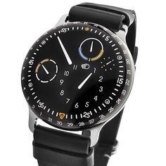 The NEW TYPE 3 from Ressence Watches - Fluid Technology with Oil Temperature Gauge.