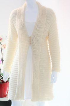 Ivory crochet cardigan Crochet cardigan Mohair crochet | Etsy Mohair Yarn, Mohair Sweater, Sweater Coats, Knit Shrug, Crochet Cardigan, Knitted Shawls, Bridal Shawl, Mulberry Silk, Green Sweater