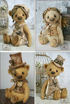 Steampunk teddies