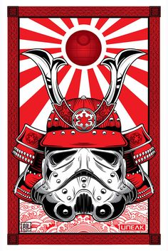 "(via ""Samurai Stormtrooper"" by Randy Adlawan – Hero Complex Gallery)"