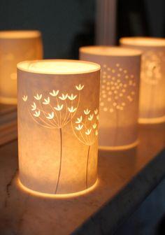 Papercut Lamps