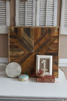 Pottery Barn Inspired Reclaimed Wood Wall Art