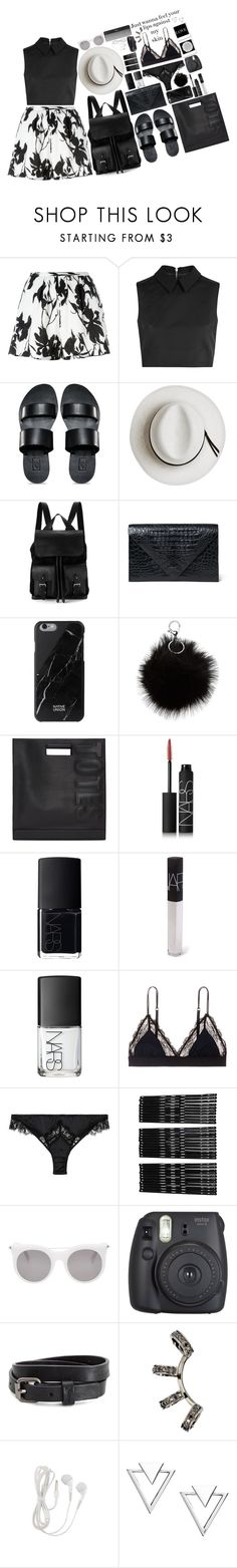 """""""Just wanna feel your lips against my skin"""" by missrouroud ❤ liked on Polyvore featuring Thakoon, McQ by Alexander McQueen, Vans, Calypso Private Label, Aspinal of London, Hunting Season, Native Union, 3.1 Phillip Lim, NARS Cosmetics and LoveStories"""