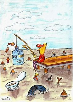Our future ? Water Pollution Poster, Air Pollution, Plastic Pollution, Pictures With Deep Meaning, Save Environment, Satirical Illustrations, Meaningful Pictures, Save Our Earth, Poster Drawing