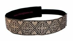 "SoCalGroove XOXO Headband 1 1/2"" by SoCal Groove. $14.95. Velvet underside to keep headband in place. Elastic back for comfortable fit. One size fits most (average nine year old to adult). 1 1/2"" wide jacquard headband. Manufactured by SoCal Groove. Made in USA. Workout, dance, practice yoga, run, play and look great in Groovy Headband. This band features velvet under side to help it stay in place throughout your day. Other models also available. Check Manufactu..."