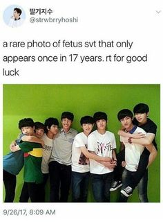 Mingyu has been carrying Jihoon since forever
