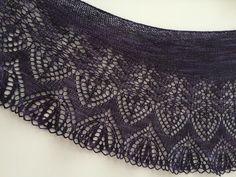 Dark Wing by Romi; yarn by Posh Yarn Dark Wings, Knitting, Tricot, Cast On Knitting, Stricken, Weaving, Knits, Yarns, Breien