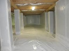 Crawl space sealing solutions in USA. #crawlspacesealing #basementwaterproofing http://www.americandrybasementsystems.com/crawlspace-sealing/
