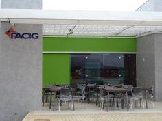 Inauguração cantina e ônibus FACIG