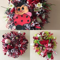 Many great, unique wreaths now on sale. Get yours today. Worldwide shipping. Treat yourself with an one of a kind wreath. More at my shop TapsikDesign.