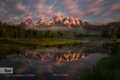 Grand Teton - Pinned by Mak Khalaf I recently went back to the Tetons for wildflower season. On this trip I really wanted to get back to grassroots use all my filters and try very hard to get great images right out of the camera without too much post processing. I also needed my images to have a dramatic edge to set them apart from the thousands of images that have come before. I have been to the Tetons a number of times and never was treated to clouds. I always wanted these scenes with…