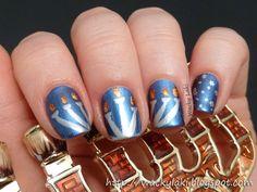 Hanukkah Nail Nails Nailart