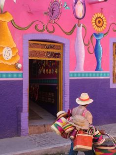 Wanderlust, Ajijic Doorway, Chapala, Jalisco, Mexico500 x 667   134.9KB   annachandelle.tumblr.com