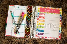 DIY Printable PDF Snap in Pages for the Erin Condren Life Planner: Meal Plan, Grocery List, Shopping List, and Cleaning Schedule