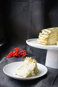 Miss Hangrypants: Green tea Crêpe Cake