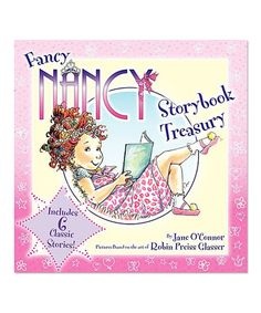 Love this Fancy Nancy Storybook Treasury Hardcover by Fancy Nancy on #zulily! #zulilyfinds