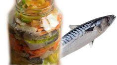 Pește copt cu legume la borcan - nici nu mi-am imaginat că poate fi atât de bun! - Bucatarul Fresh Rolls, Preserves, Pickles, New Recipes, Cucumber, Food And Drink, Avocado, Homemade, Chicken