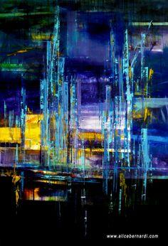 """Storm Over""  acrylic on canvas 170x115 cm www.alicebernardi.com"