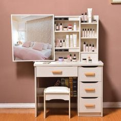 Dresser bedroom dressing table simple modern small mini vanity - Come . - Dresser bedroom dressing table simple modern small mini vanity – Dresser bedroom dressing table s - Bedroom Furniture Sets, Home Decor Bedroom, Home Furniture, Bedroom Ideas, Cheap Furniture, Wicker Bedroom, Luxury Furniture, Diy Bedroom, Antique Furniture