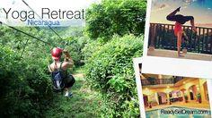 Yoga retreat in Nicaragua. A full week of yoga, adventure and fun. yoga, fitness, retreat, adventure, hiking, surfing, horseback riding, Nicaragua