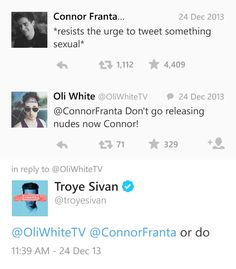 connor france and tyler oakley dating services