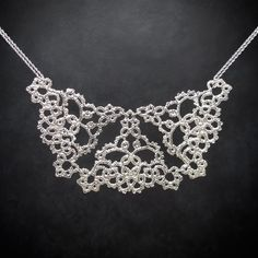 'Opulence' sterling silver necklace, by Ruth Mary Jewellery
