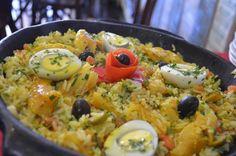 Aprenda a preparar arroz de Páscoa com esta excelente e fácil receita. Buscando receitas para o almoço de Páscoa? O Tudoreceitas sugere um maravilhoso arroz de Pásco...